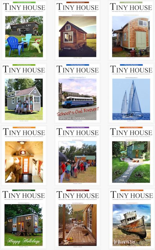 Tiny House Magazine Issues 25-36